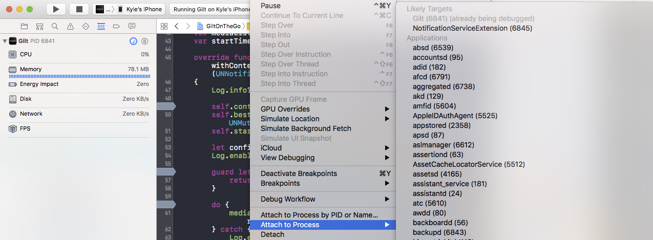 Advanced tips for building an iOS Notification Service Extension